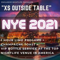 XS Lounge NYE - Outside Table