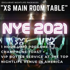 XS Lounge NYE - Main room