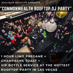 Commonwealth Bottle Service | 2 Bottles | 12 Guests Max