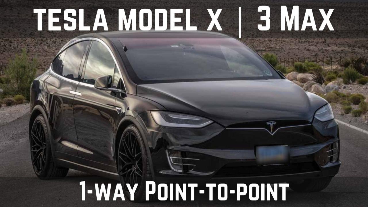 Tesla Model X | 3 Max
