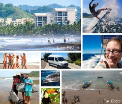 San Jose Airport to Jaco Beach Carara National Park Naturist Guided Hike – Shared Shuttle Transportation Services