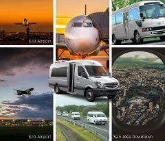 Jaco Beach to San Jose Airport SJO - Shared Shuttle Transportation Services