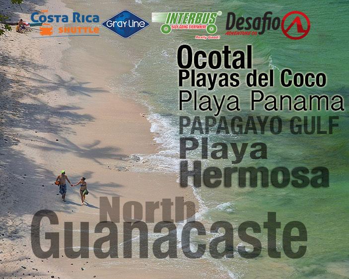 Private Service Playa Hermosa Jaco to North Guanacaste - Transfer