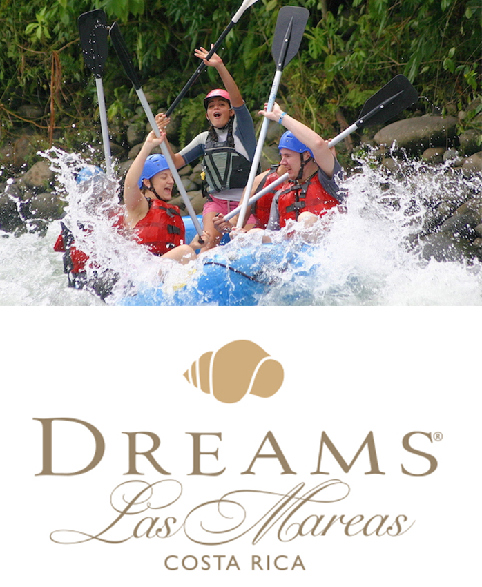 Dreams Las Mareas Tours : White Water Rafting Rio Tenorio Class 3-4 Rafting