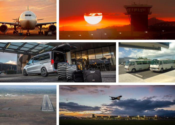 San Jose Airport to Liberia City - Shared Shuttle Transportation