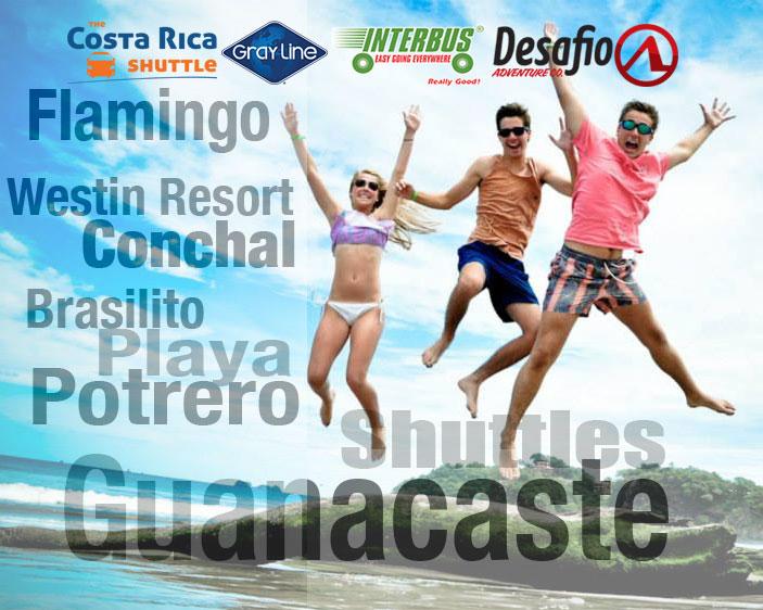Shuttle Playa Hermosa Jaco to Guanacaste - Transfer