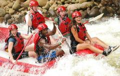 La Fortuna to Puerto Viejo - Adventure Connections Rafting Sarapiqui (Class 3-4)