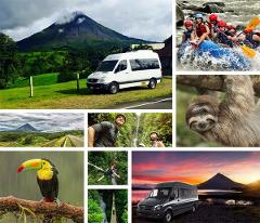 Dreams Las Mareas to Arenal La Fortuna Safari Rafting Tenorio River Class 3 and 4