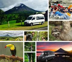 San Jose Airport to Arenal La Fortuna - Special 5PM Shuttle Departure - Shared Shuttle Transportation Services