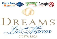 Shuttle Arenal La Fortuna to Dreams Las Mareas