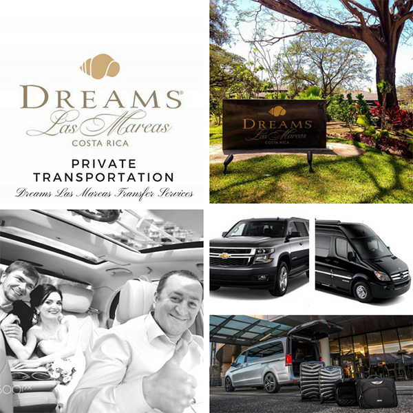 Liberia Airport to Dreams Las Mareas - Private Transportation Services