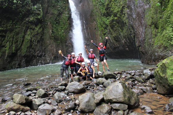 Adventure Connection: Gravity Falls Waterfall Jumping Canyoning Tour