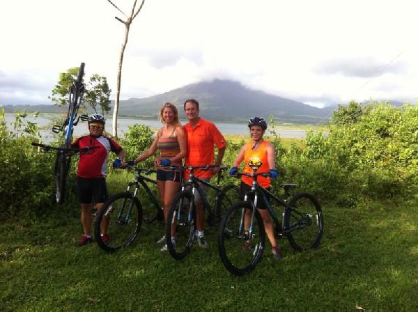 Mountain Biking in Arenal Volcano & Lake trail (Moderate)
