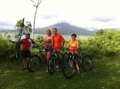 Mountain Biking in Arenal Volcano & Lake trail (Moderate)