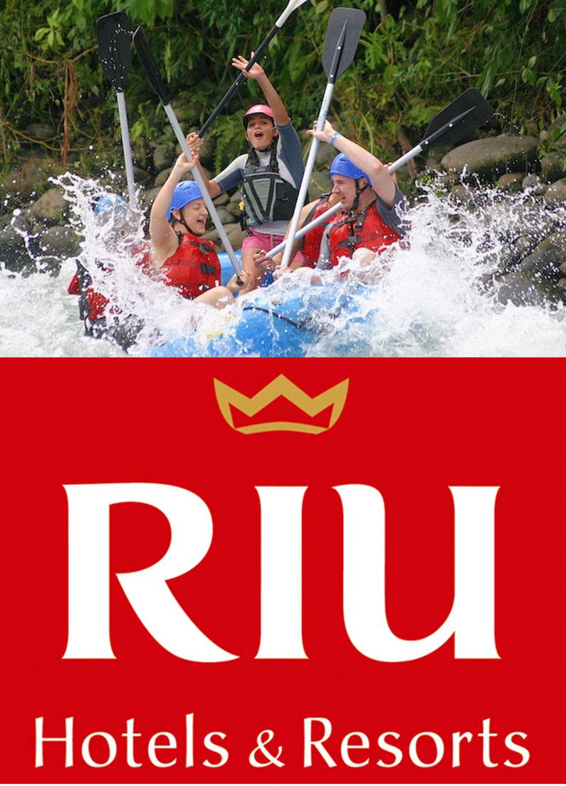 RIU Tours: White Water Rafting Rio Tenorio Class 3-4 Rafting