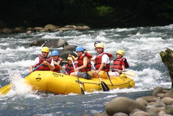 Savegre White Water Rafting River Class II/III - Herradura