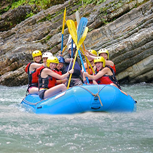 Savegre White Water Rafting River Class II/III - From Villa Caletas & Zephyr Palace
