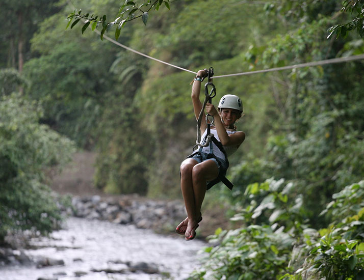 Arenal COMBO Costa Rica Whitewater Rafting and Ziplining