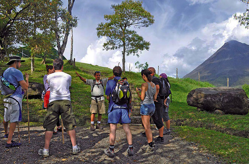 Arenal COMBO Highlights Bridges Fortuna Waterfall Volcano Hike
