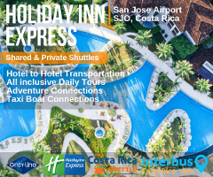 Holiday Inn Express San Jose Airport to Jaco Beach – Private Transportation Services