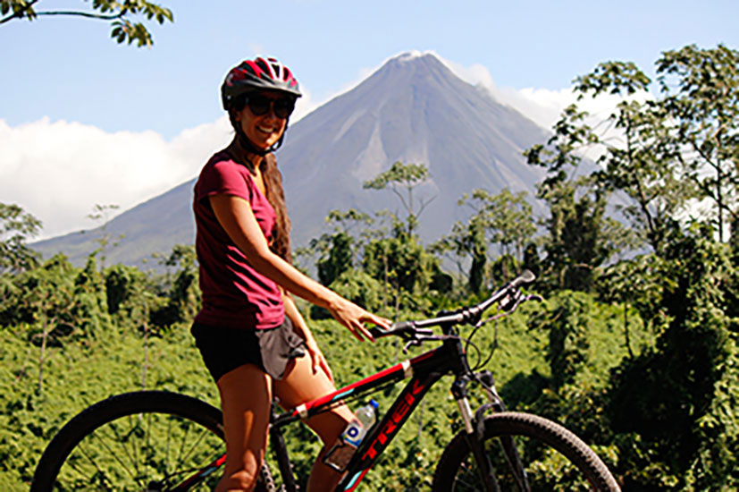 Mountain Biking Arenal Volcano Lake Trail