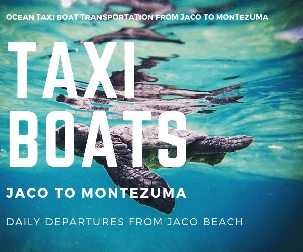 Taxi Boat Girasol & Tuanis Apartotels Jaco to Montezuma
