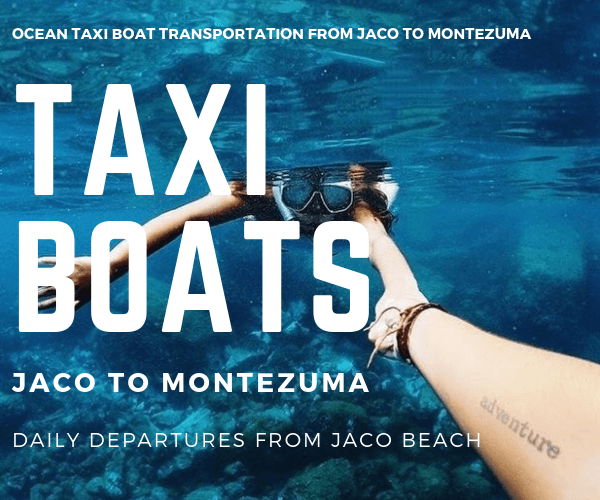 Taxi Boat Playa Hermosa Cabins Jaco to Montezuma