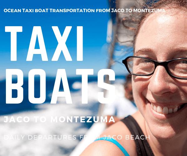 Taxi Boat Casa Pura Vida Hotel Jaco to Montezuma
