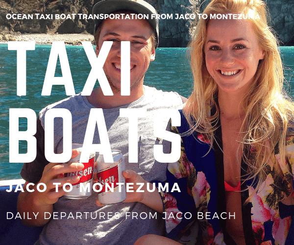 Taxi Boat Catalina Hotel Jaco to Montezuma