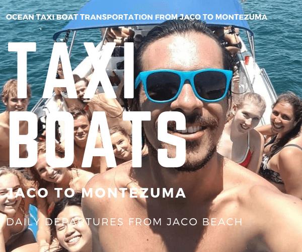 Taxi Boat Club del Sol Hotel Jaco to Montezuma