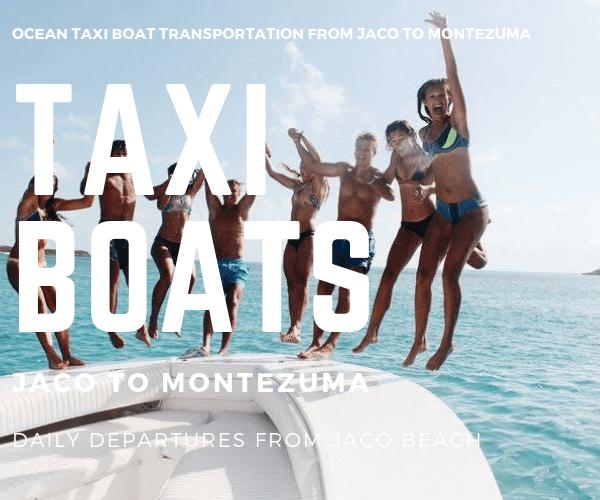 Taxi Boat Sueno del Paraiso Hotel Jaco to Montezuma