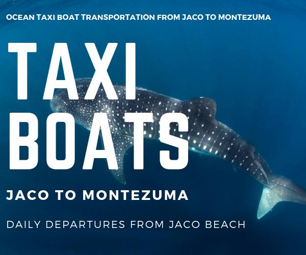 Taxi Boat Vista Pacifico Aparthotel Jaco to Montezuma