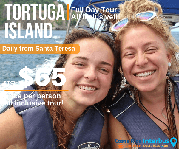 Tortuga Island Full Day Tour from The Place Mal Pais