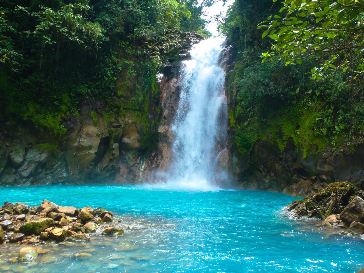 Papagayo Tours: Rio Celeste National Park & Tenorio Volcano Guided Hike