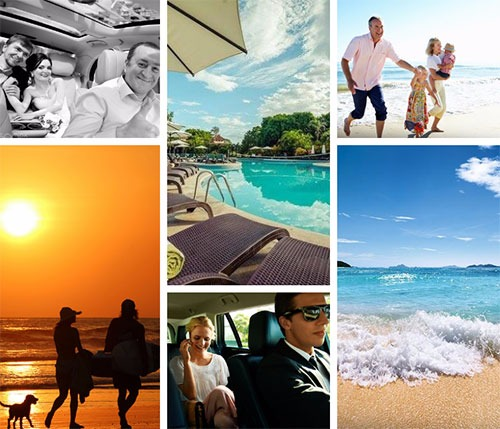 Dominical to Papagayo Gulf - Shared Shuttle Transportation Services