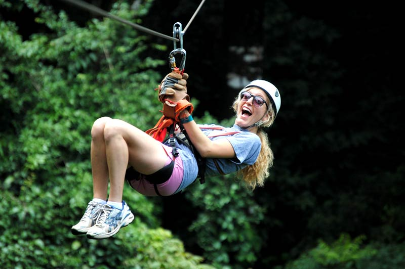 COMBO: Zip Line Canopy Tour Mal Pais and Sunset Tour.