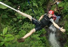 San Jose to Arenal LaFortuna + Lost Canyon Adventures