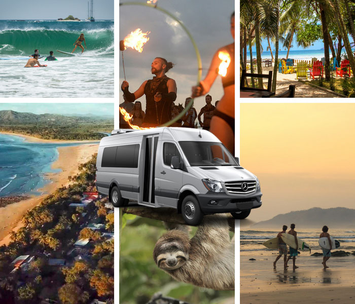 Dominical to Tamarindo Beach - Shared Shuttle Transportation Services