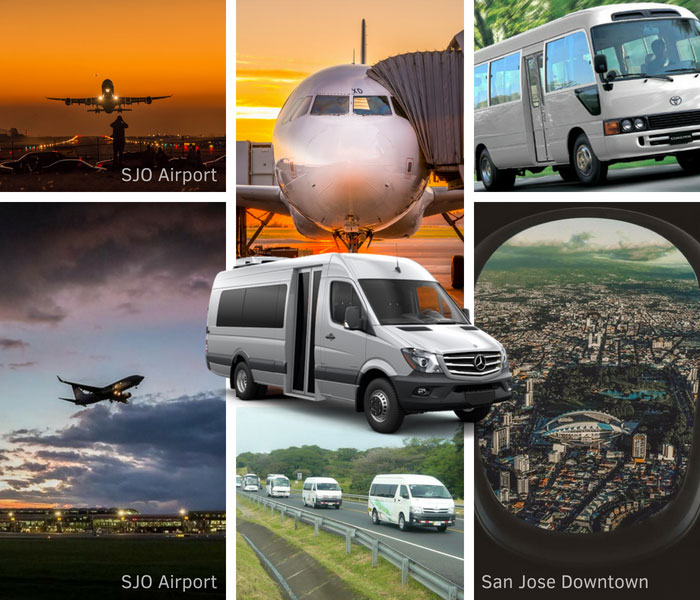 North Guanacaste to San Jose Airport - Shared Shuttle Transportation Services
