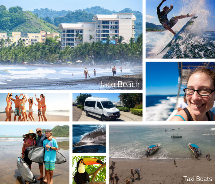 Shuttle Dominical to Jaco Taxi Boat
