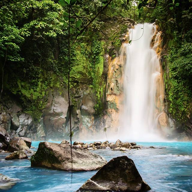 Adventure Connections: Rio Celeste Hike (Blue River) From La Fortuna to Liberia