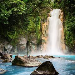 Adventure Connections: Rio Celeste Hike (Light Blue River) La Fortuna to Liberia