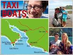 MONTEZUMA TO DOMINICAL: TAXI BOAT