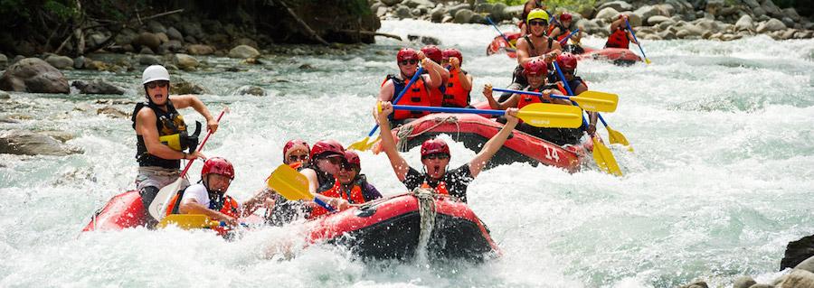 Papagayo Tours: White Water Rafting Rio Tenorio Class 3-4 Rafting