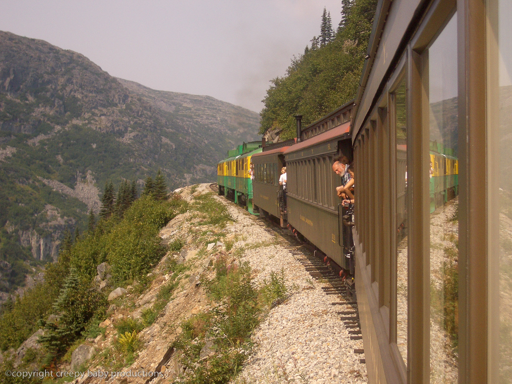 BEST OF SKAGWAY:  TRAIN-HIGHWAY COMBO ADVENTURE