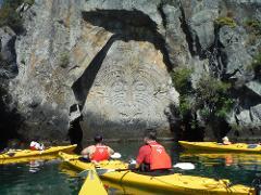 SPECIAL $360 - Group of 4 - Half Day Kayaking - Maori Rock Carvings Adventure