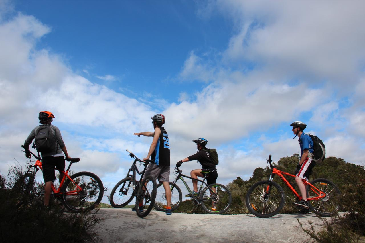 MTB - Western Bay FUN - 2 Day Bike Hire & Transport (Unguided).  Trails: Waihora and  Orakau & K2K