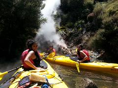 Geothermal Kayak and Walk (Orakei Korako)
