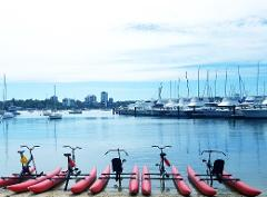 1 Hour Water Bike Hire | Boundary The Blue Boat House