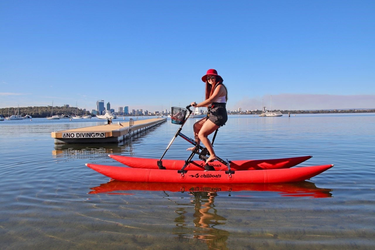 30 Minute Water Bike Hire